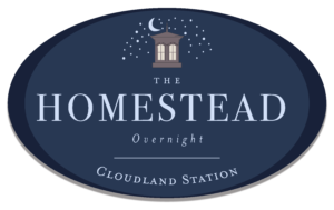 Homestead Overnight Logo
